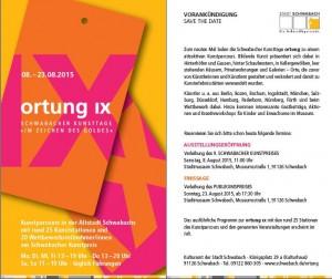 Einladung Ortung 2015