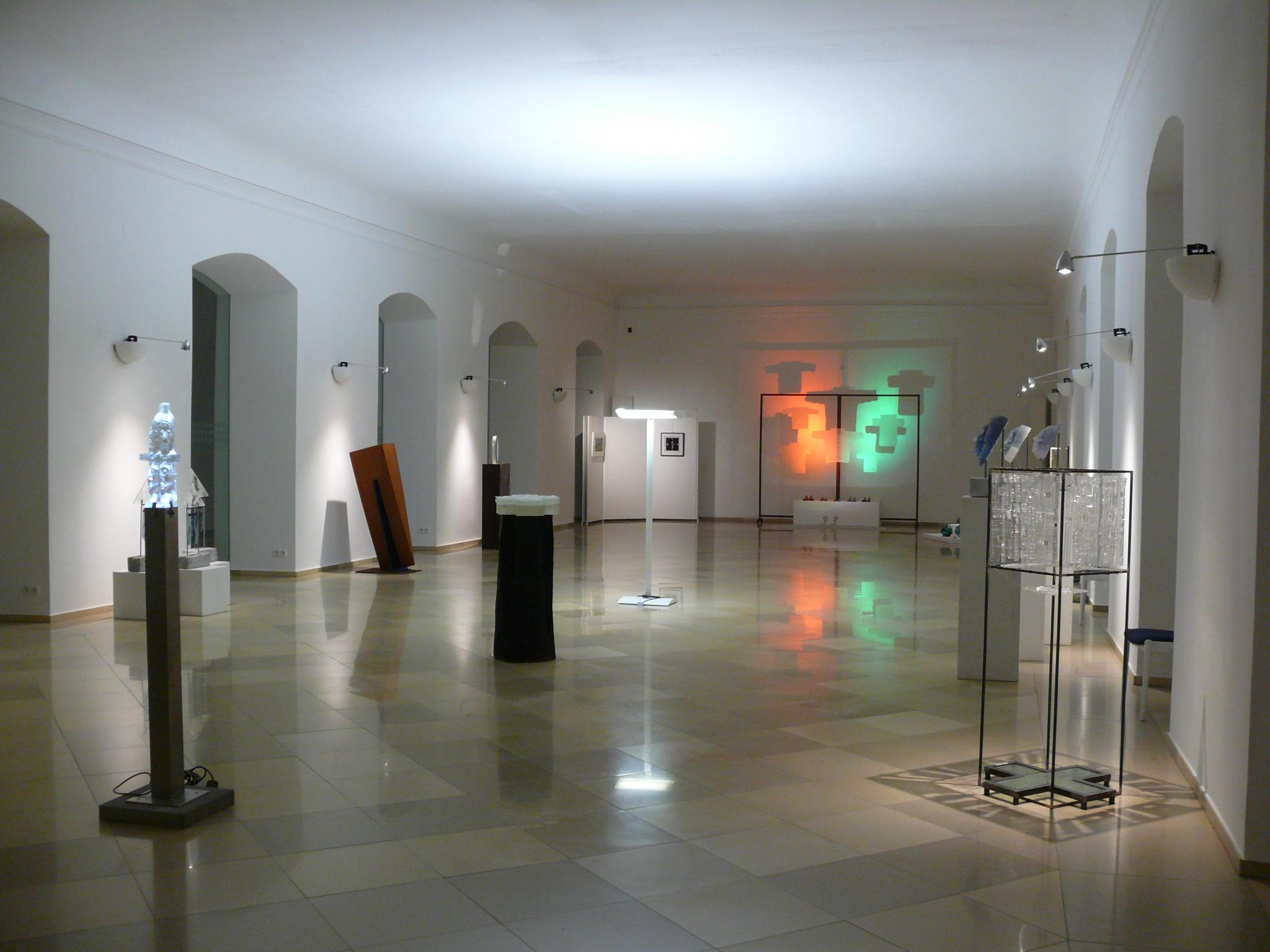 Glaskunst im Kloster Schussenried