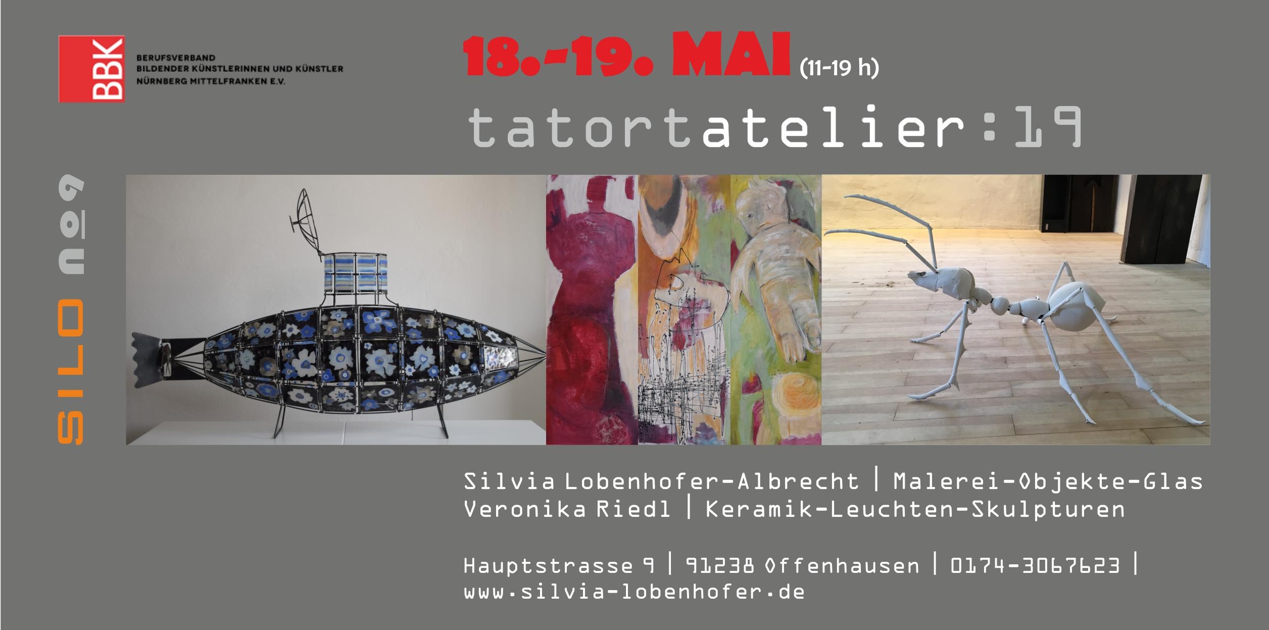 Tatort Atelier | BBK Nürnberg